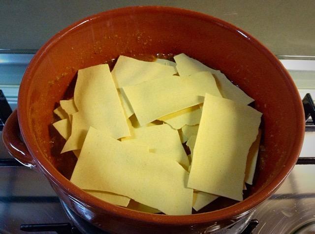 preparazione lasagne
